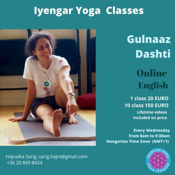 Gulnaazz Dashti workshop
