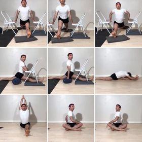 advanced hip work hanumanasana preparation  recorded