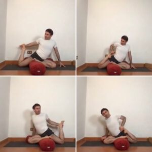 Preparation to front leg img