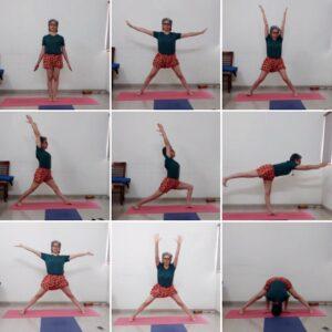 How to reach Virabhadrasana III img