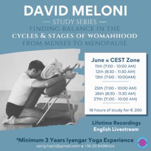 David Meloni workshop