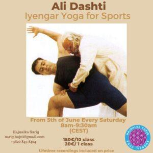 Live stream classes by Ali Dashti