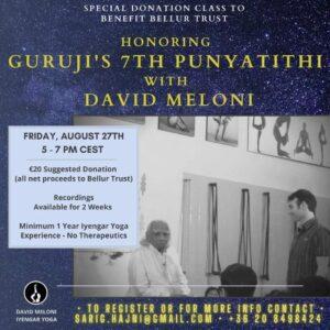 Honoring Guruji's workshop img