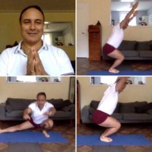 Dynamic practice to reach malasana img
